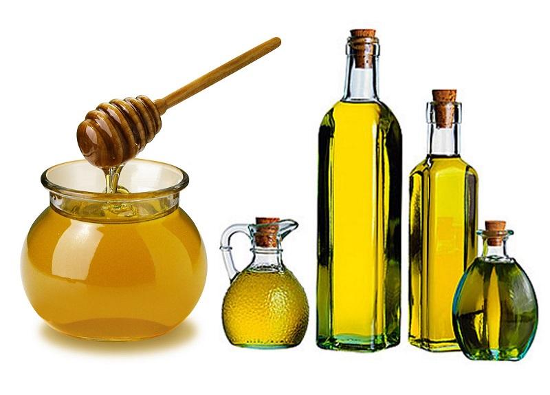 Tắm trắng với cám gạo, mật ong và dầu ô liu