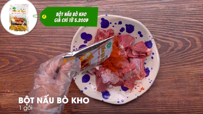Cách nấu bò kho tại nhà bằng gói gia vị bò kho đơn giản ngon đúng điệu
