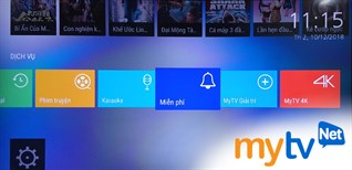Cách sử dụng ứng dụng MyTV trên Android tivi Sharp 2018