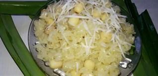 Cách nấu xôi hạt sen bằng nồi cơm điện vừa bổ dưỡng lại dễ làm