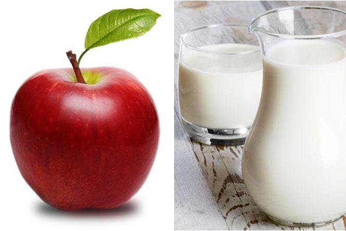 Giảm cân bằng sữa chua và táo