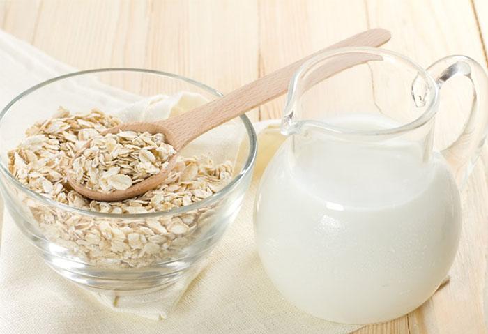 Giảm cân bằng bột yến mạch và sữa chua