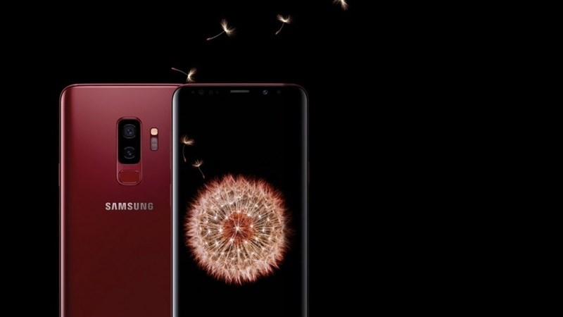 Samsung Việt Nam trình làng phiên bản Galaxy S9+ Vang Đỏ cho mùa lễ hội