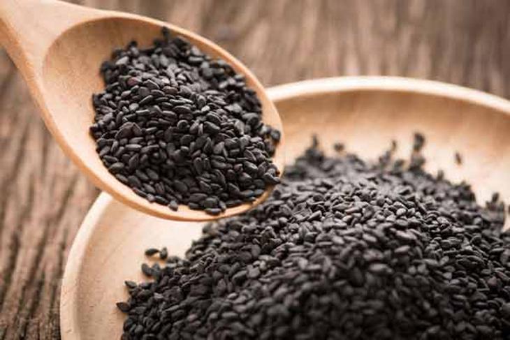 Bước 1 Sơ chế nguyên liệu Sữa yến mạch mè đen