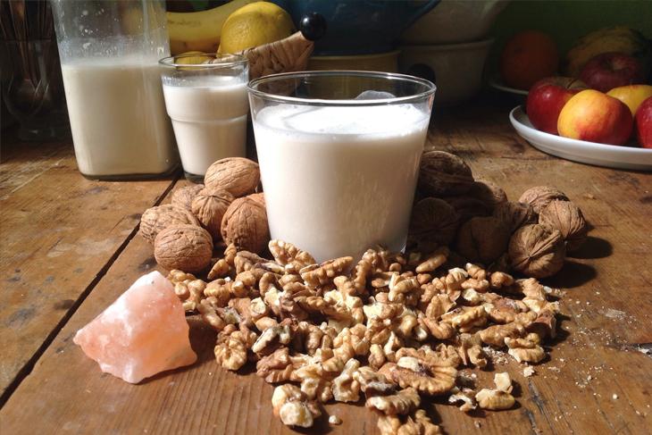 Bước 3 Thành phẩm Sữa yến mạch óc chó