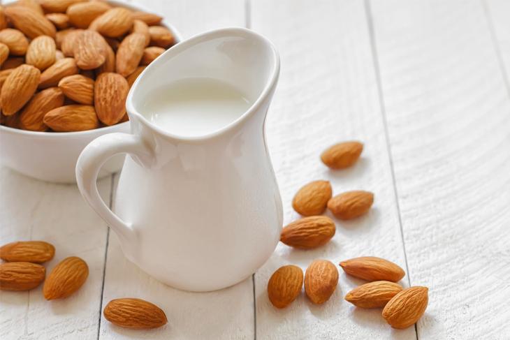 Bước 3 Thành phẩm Sữa hạnh nhân yến mạch