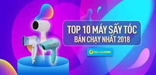 Top 10 máy sấy tóc bán chạy nhất Điện máy XANH năm 2018