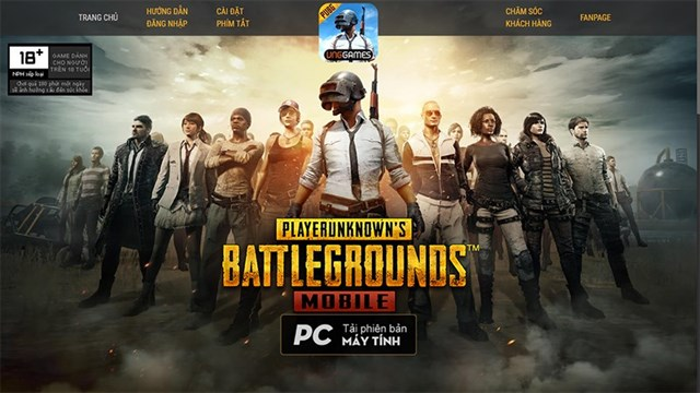 pubg mobile download pc vng