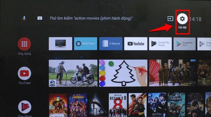 Cách cài đặt thời gian, múi giờ trên Android tivi Panasonic 2018