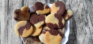 Làm bánh quy bơ giòn tan, thơm nức mũi không cần lò nướng