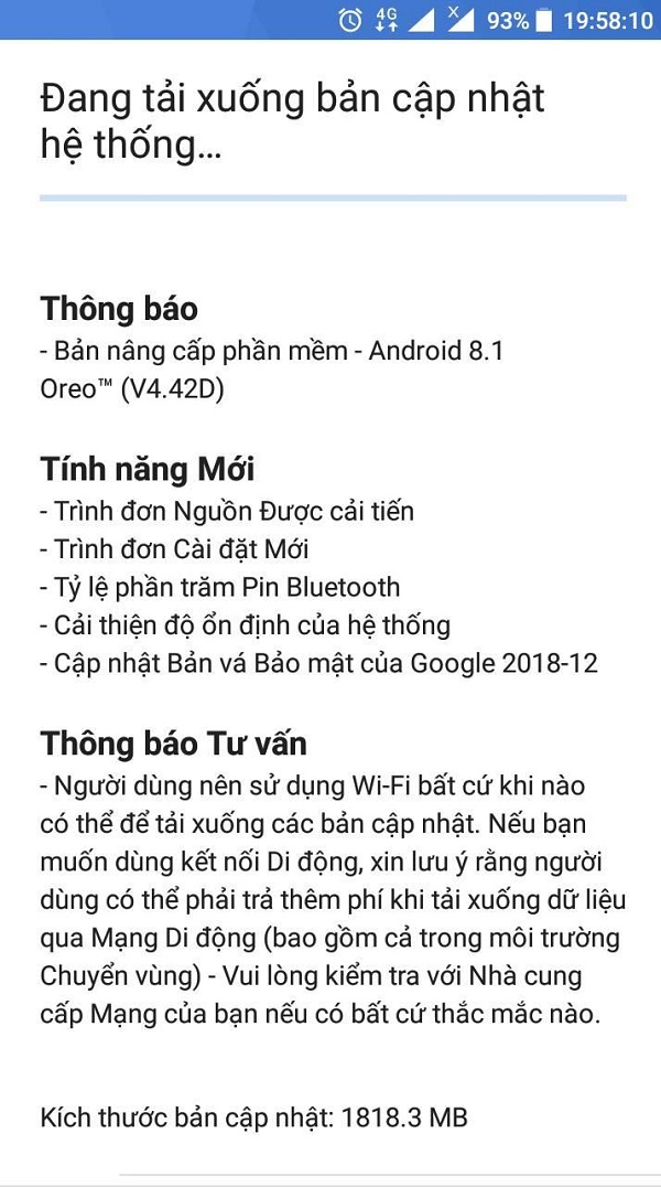 Nokia 3 tại Việt Nam chính thức được cập nhật Android 8.1 Oreo