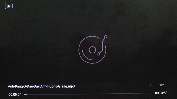 Cách xem phim, nhạc, ảnh trong USB trên Android tivi Panasonic 2018