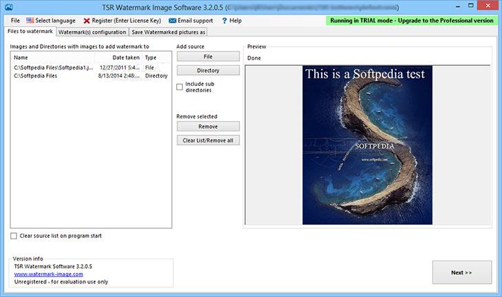 TSR Watermark Image Software Pro