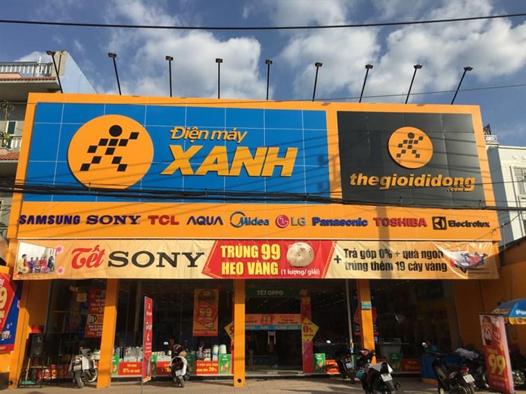 Siêu thị điện máy xanh tại 1A93/2 Ấp 1, xã Phạm Văn Hai, huyện Bình Chánh, TP. Hồ Chí Minh