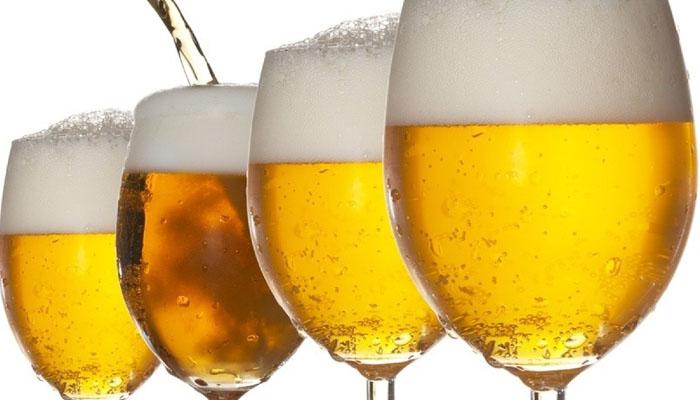 Gội đầu với bia