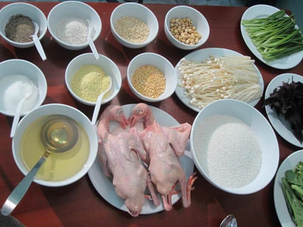 Cách nấu cháo chim bồ câu ngon đơn giản không bị tanh