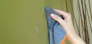 Giúp tường nhà sạch bóng như mới chỉ với nước rửa chén