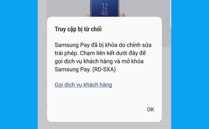 Cảnh báo: Vĩnh viễn không dùng được Samsung Pay nếu đã root máy