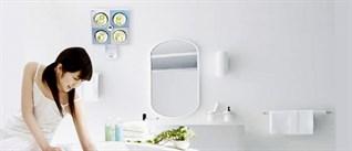 Ánh sáng đèn sưởi nhà tắm có hại mắt không?