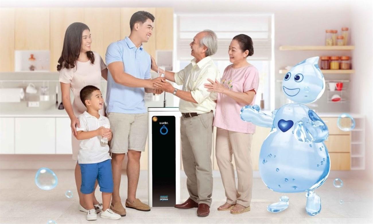 mua máy lọc nước cho ba mẹ ngày Tết
