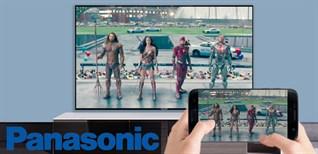 Cách phản chiếu hình ảnh từ điện thoại lên Android tivi Panasonic 2018