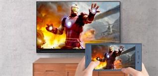 Cách phản chiếu hình ảnh từ điện thoại lên Smart tivi Sharp 2018