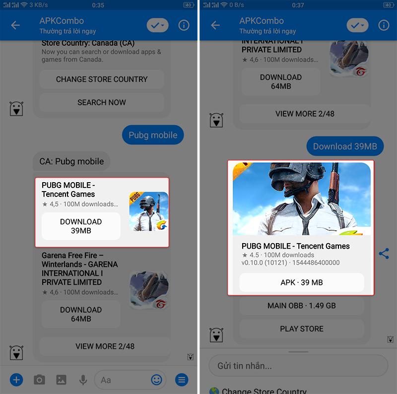 tải pubg mobile quốc tế