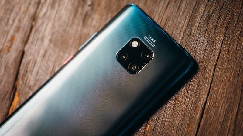 Bằng sáng chế ốp lưng Huawei Mate 30 Pro có camera penta ở phía sau