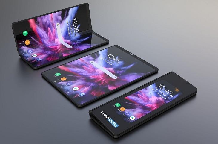 Khái niệm điện thoại gập đôi lên ngôi trong năm 2019