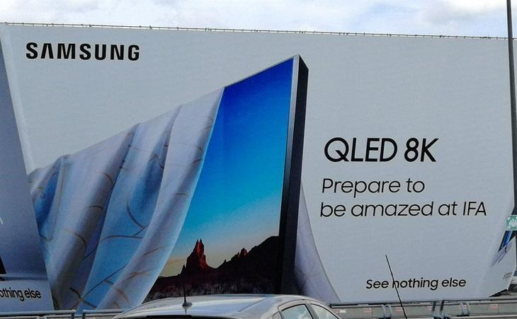 Chiếc tivi 8K của Samsung với giá 15.000 USD