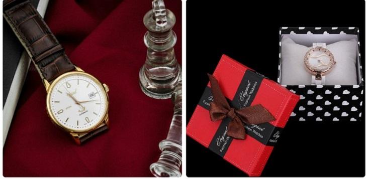 Đồng hồ đeo tay thể hiện được gu thẩm mỹ cao của người tặng