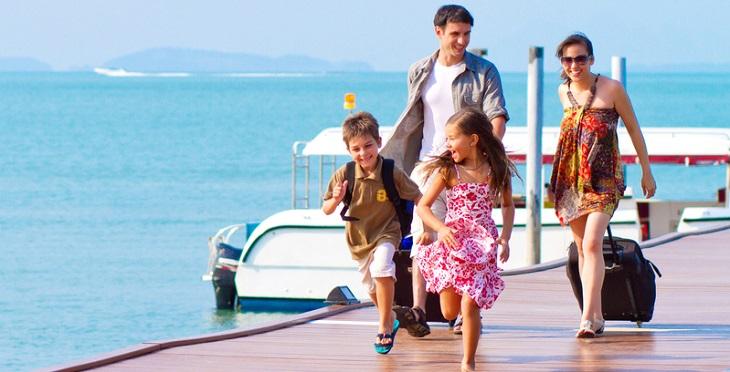 Du lịch để hâm nóng lại tình cảm gia đình