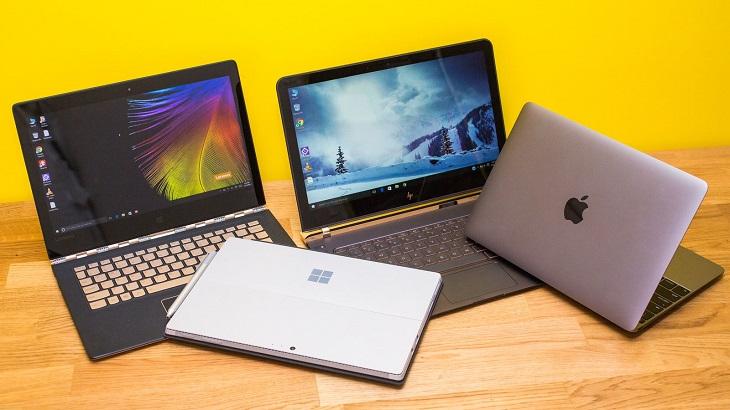 Mua laptop làm quà cho các cô vợ thường xuyên sử dụng laptop làm việc