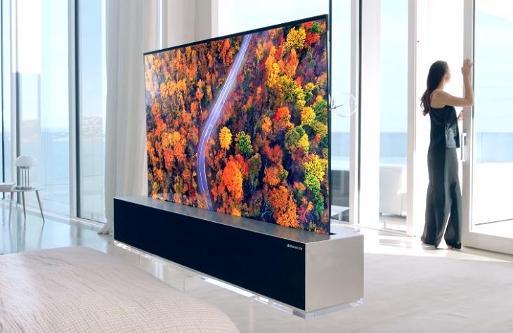 Tivi màn hình cuộn là gì? Có phải là xu hướng của tương lai?