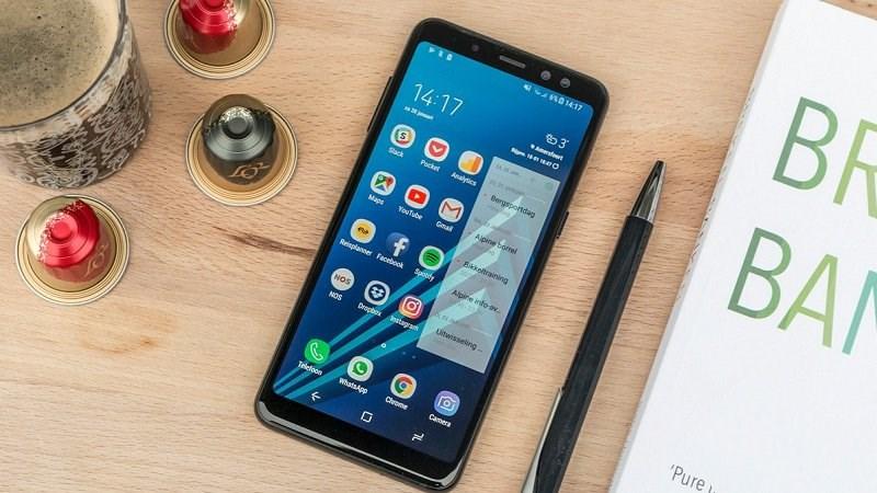 Samsung Galaxy A8 (2018) chạy Android Pie xuất hiện trên Geekbench