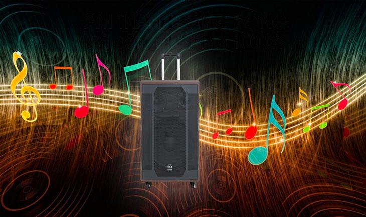 Loa kéo Karaoke Mobell K1507 1000W