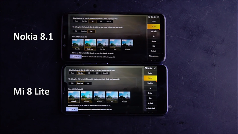 Nokia 8.1 vs Xiaomi Mi 8 Lite