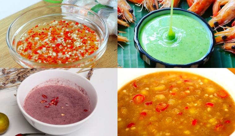 Tổng hợp tất cả các loại nước chấm thông dụng cho nhiều món ăn