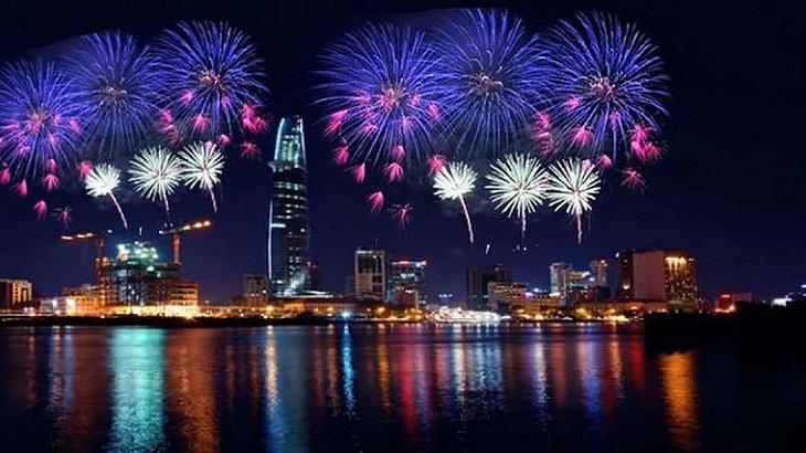 Bắn pháo hoa tai thành phố Hồ Chí Minh