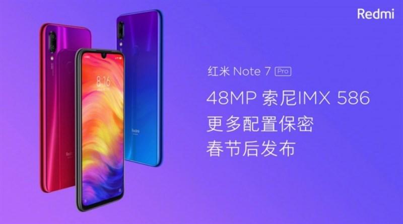 Xiaomi Redmi Note 7 Pro lộ cấu hình và giá bán cực thơm - 253058