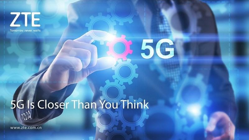 ZTE và China Unicom thực hiện cuộc gọi 5G thực địa đầu tiên thế giới