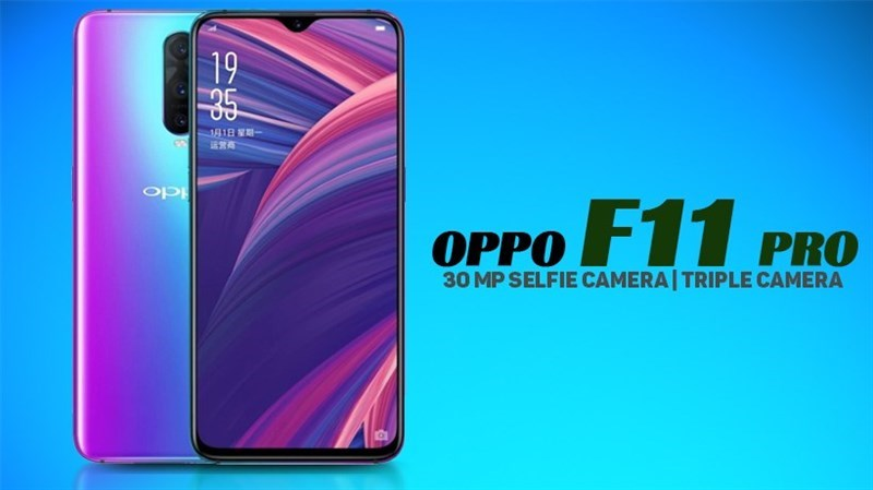 OPPO F11 Pro ទទួលបានការបញ្ជាក់ពីប្រទេសចំនួន 3 ថាអាចបញ្ចូលកាមេរ៉ាពង្រីកអុបទិក 10x