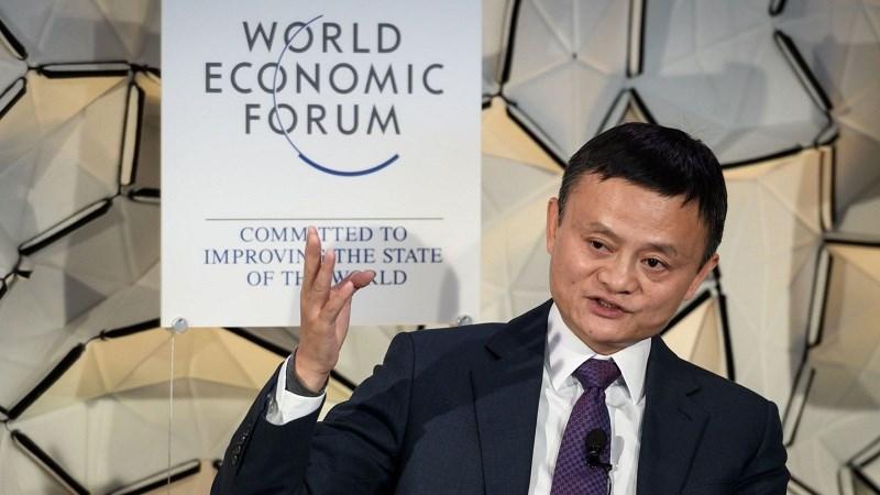 Jack Ma phát biểu về công nghệ tại WEF 2019