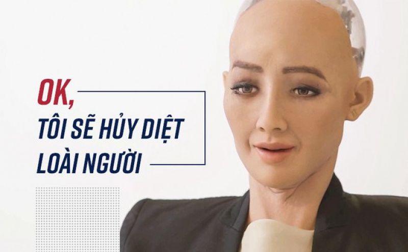 Sophia - nữ robot đầu tiên trên thế giới được cấp quyền công dân