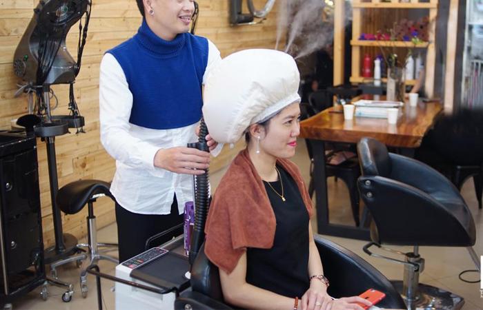 Bổ sung Keratin trực tiếp cho tóc