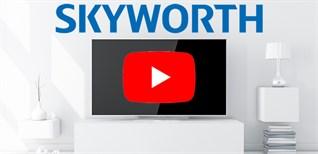 Cách đăng nhập tài khoản youtube trên Android tivi Skyworth 2018