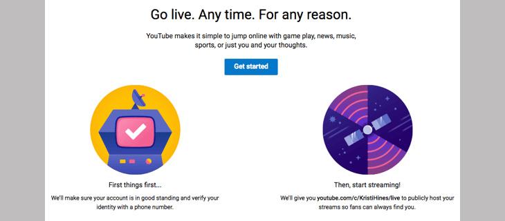 Livestream YouTube trên máy tính + Bước 2