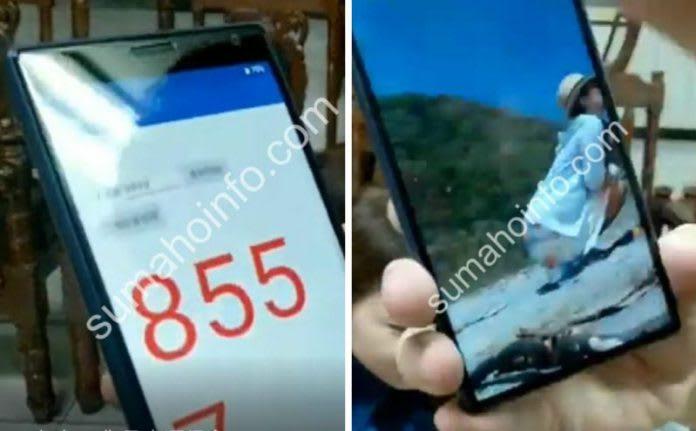 Sony Xperia XA3 rò rỉ ảnh thực tế rõ nét mới - 254859