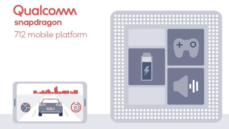 Snapdragon 712 sở hữu hiệu năng tăng 10% so với Snapdragon 710