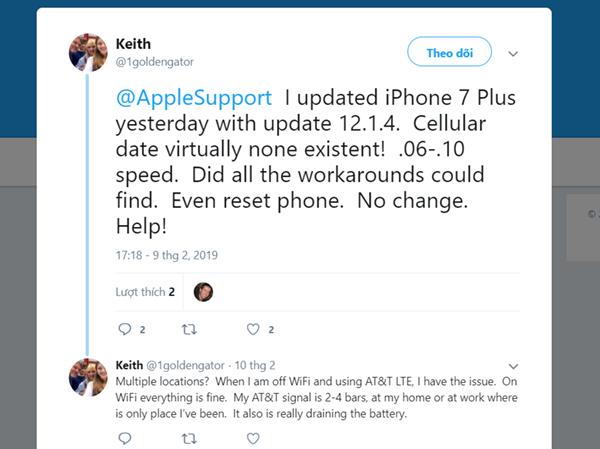 iOS 12.1.4 đang gặp nhiều lỗi, các bạn đừng vội nâng cấp! - ảnh 2